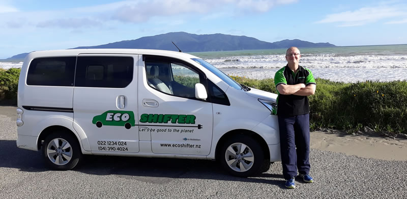 Phil Byrne - founder and director of Eco Shifter